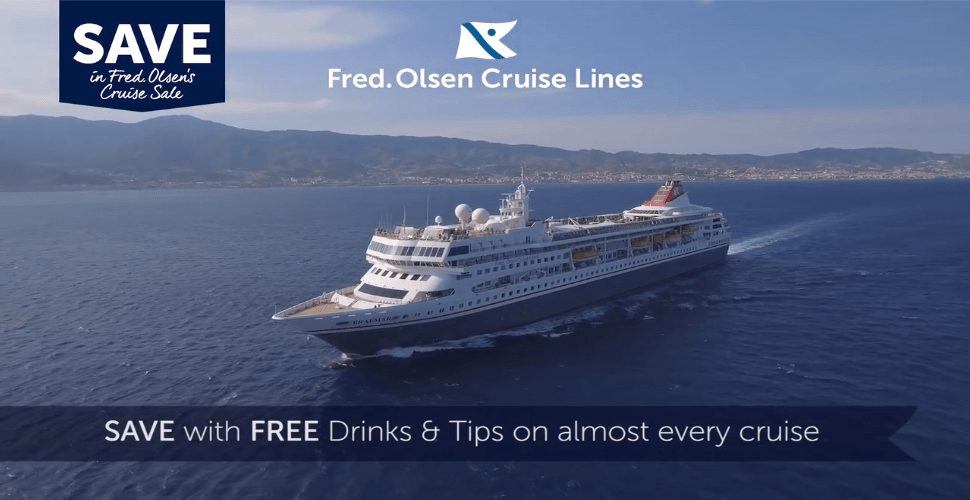 Fred Olsen Cruise Free Drinks image