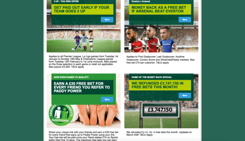 Paddy Power Betting Rules