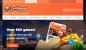 LeoVegas homepage image